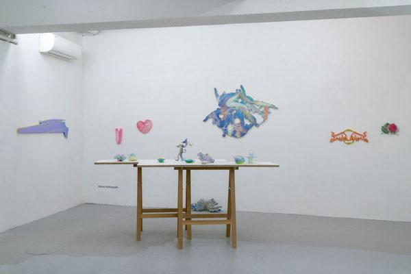 「足下から空を蹴る」小林晴郎さんの作品
