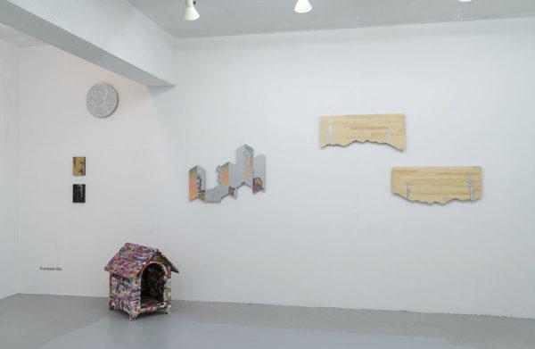 「足下から空を蹴る」衛藤文俊さんの作品