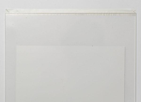 アクリル板とマスキングテープを用いた簡易フレームの額装手順2