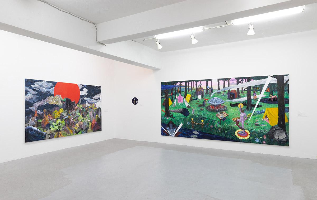ART TRACE GALLERY「闘争か逃走 Fight / Flight」コヤマイッセーさんの作品