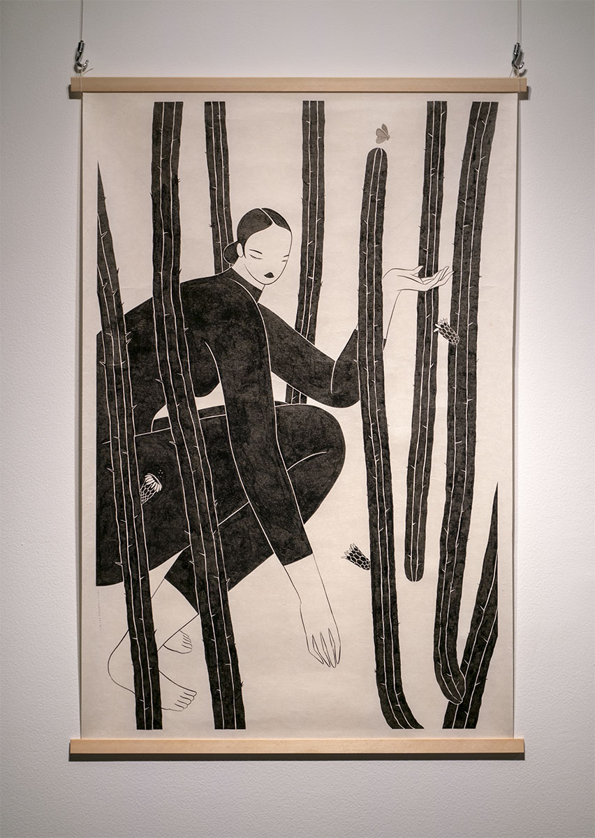 ヒルダ・パラフォックス展覧会「メキシコから日本へ:11864キロの旅」展示画像4
