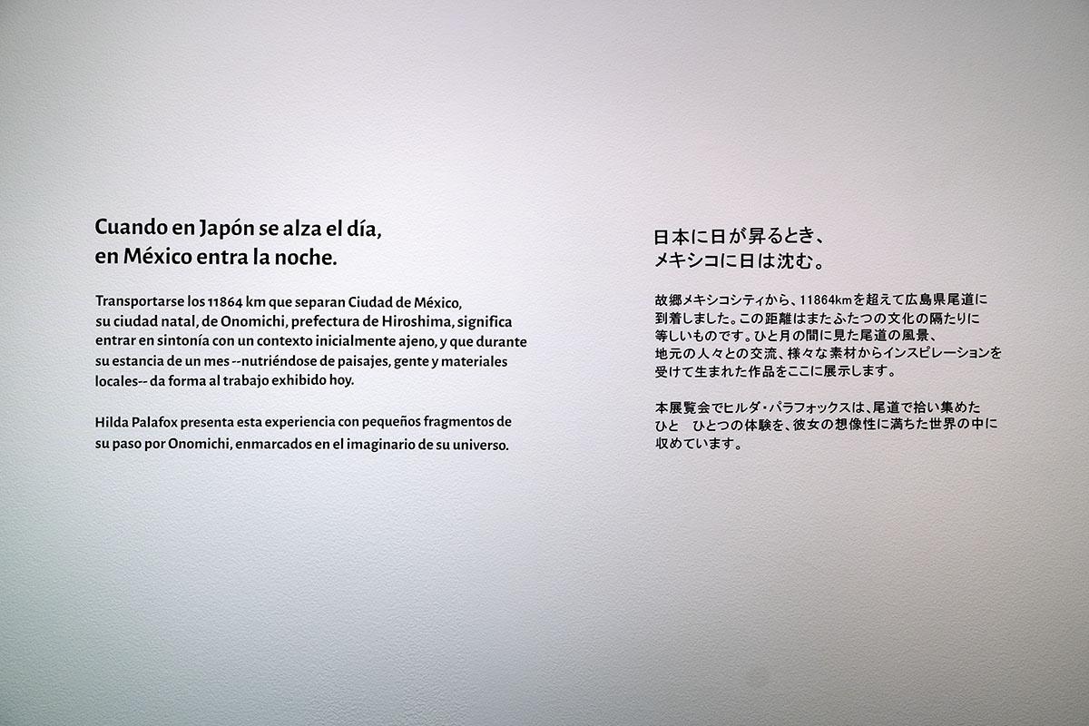 ヒルダ・パラフォックス展覧会「メキシコから日本へ:11864キロの旅」展示画像2