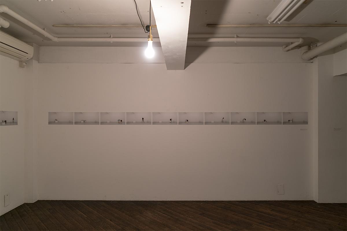作品「症状の肖像」Soloバージョン展示スペース