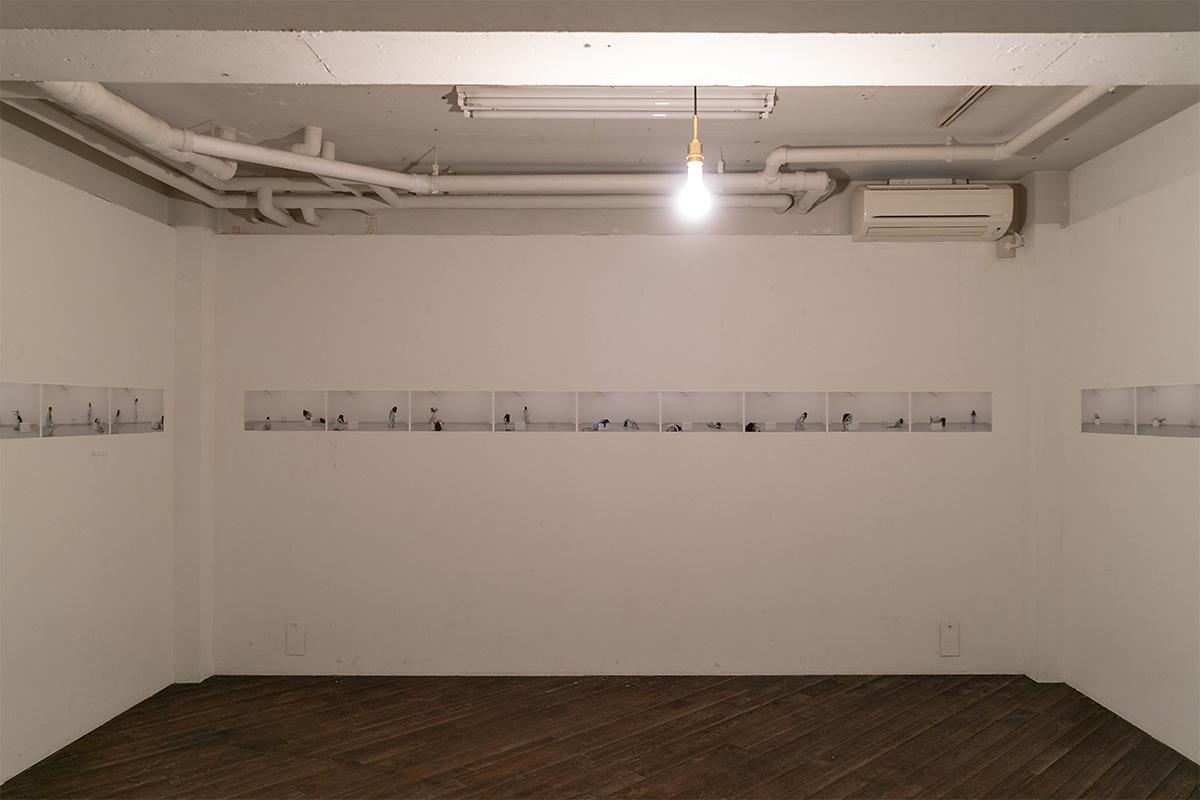 作品「症状の肖像」Duoバージョン展示スペース