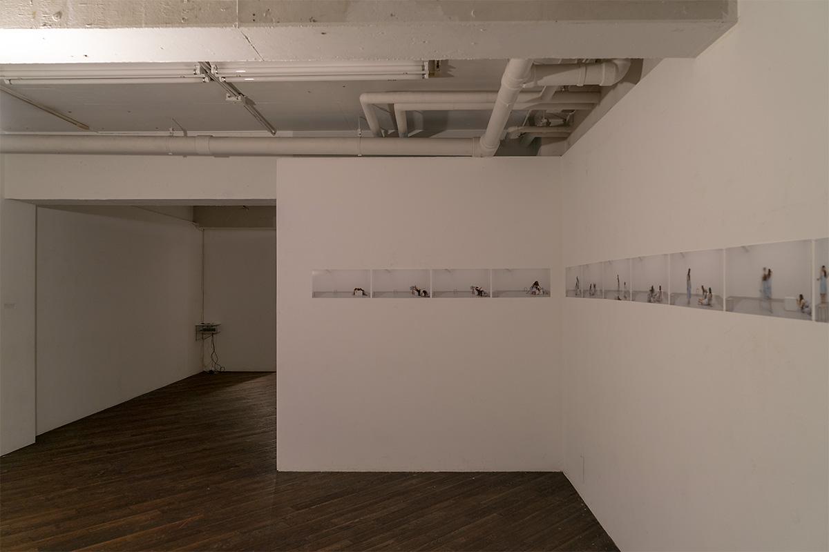 作品「症状の肖像」Trioバージョン展示スペース