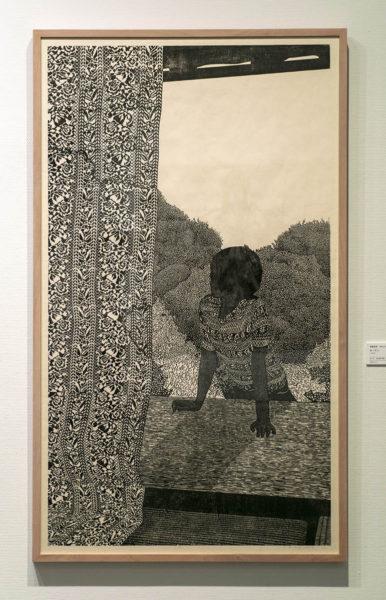 遠藤美香さんの作品《カーテン》