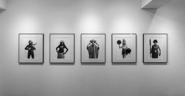 佐野光子 個展「EXOTICA」展示風景