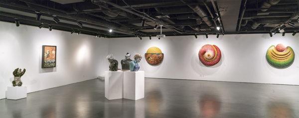 「フェデリコ・ウリベ -再構築、出現-」展示風景