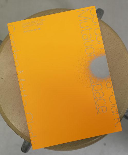 東京国立近代美術館「ゴードン・マッタ=クラーク展」展示カタログ